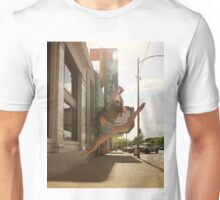 Dancing in Front of the Theater  Unisex T-Shirt