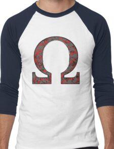 Darkseid - DC Spray Paint Men's Baseball ¾ T-Shirt