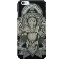 Ganesha (black) iPhone Case/Skin