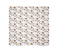 Dog Breeds Pattern Scarf