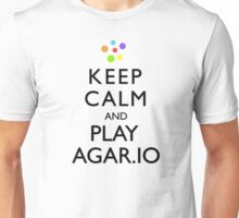 Agar.io KEEP CALM AND CARRY ON Unisex T-Shirt