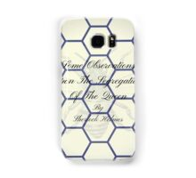 Second Book by Sherlock Holmes during retirement Samsung Galaxy Case/Skin