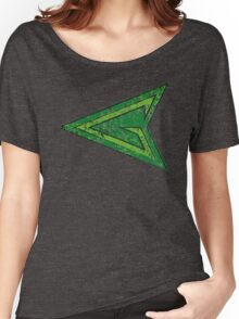 Green Arrow - DC Spray Paint Women's Relaxed Fit T-Shirt