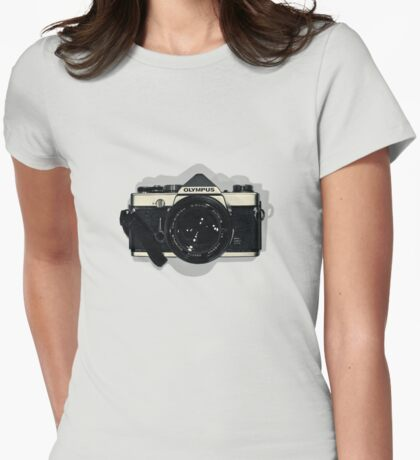 OM 1 Womens Fitted T-Shirt