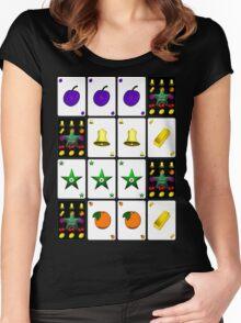 """Vegas Stars""© Women's Fitted Scoop T-Shirt"
