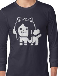 Temmie  Long Sleeve T-Shirt