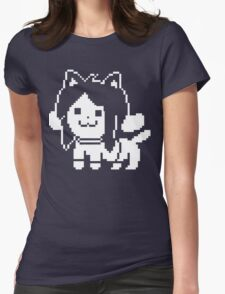 Temmie  Womens Fitted T-Shirt