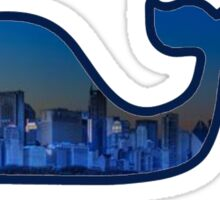 City View Vineyard Vines Whale Sticker
