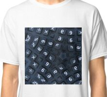 buttons on a really strange calculator Classic T-Shirt