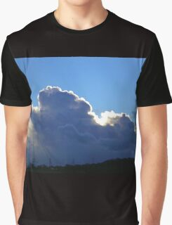 Storm Clouds Gathering and a Silver Lining Graphic T-Shirt