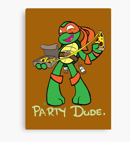 Teenage Mutant Ninja Turtles- Michaelangelo Canvas Print