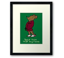 Teenage Mutant Ninja Turtles- Splinter Framed Print