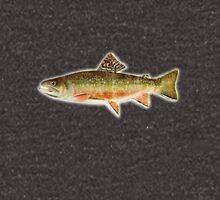 vintage trout Hoodie