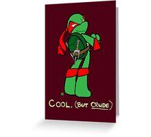 Teenage Mutant Ninja Turtles- Raphael Greeting Card