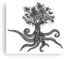 Octo-Tree Canvas Print