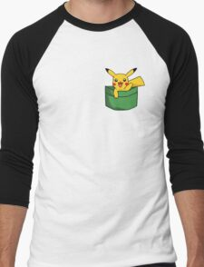Pokemon Pikachu - Cute Pocket - Nintendo - Yellow & Green T-Shirt