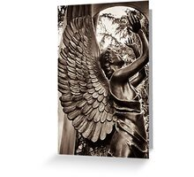 angel star blessing Greeting Card