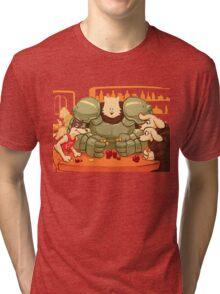 Undertale - Dog Poker Tri-blend T-Shirt