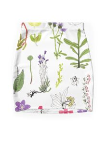 Herbarium / Herbier #2 Mini Skirt