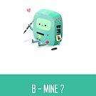 B-Mine - Valentines Day Card by NerdCat