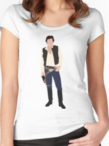 Han Solo 1 Women's Fitted Scoop T-Shirt