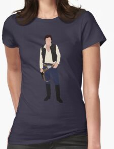 Han Solo 1 Womens Fitted T-Shirt