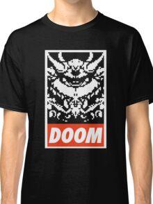 DOOM (OBEY Parody) - Black Shirt Version Classic T-Shirt