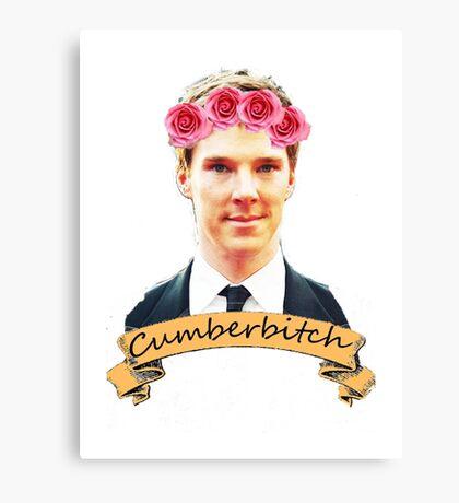 Cumberbitch shirt Canvas Print