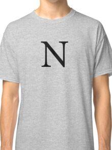 Nu Greek Letter Classic T-Shirt