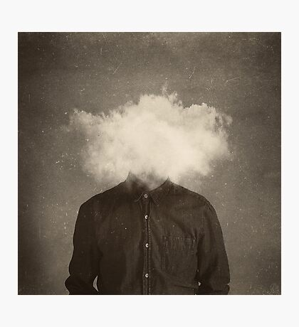 head in the clouds Photographic Print