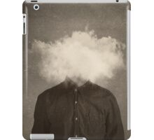 head in the clouds iPad Case/Skin