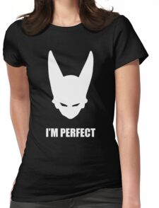 PERFECT CELL - White  Womens Fitted T-Shirt