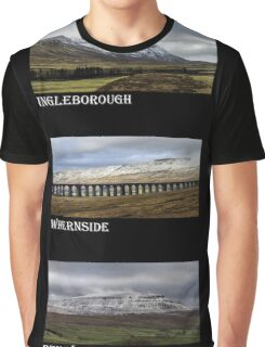 3 Highest Peaks Of The Yorkshire Dales Graphic T-Shirt