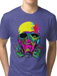 Toxic skull Tri-blend T-Shirt