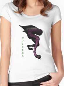 Silent Hill 3 - Numb Body Glitch Women's Fitted Scoop T-Shirt