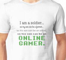 Online Gamer poet  Unisex T-Shirt