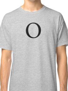 Omicron Greek Letter Classic T-Shirt