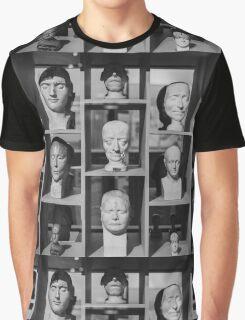 Facial Display Graphic T-Shirt