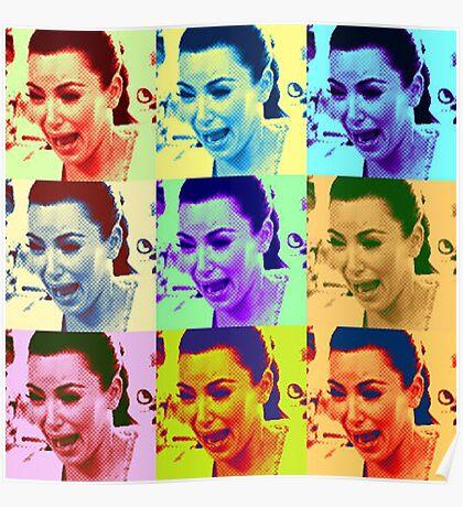 Kim Kardashian Crying Poster