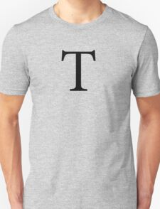 Tau Greek Letter Unisex T-Shirt