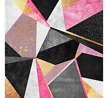 Geometry / Pink Photographic Print