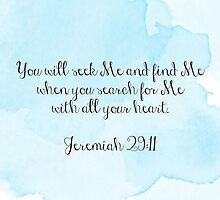 Jeremiah 29:11 by madisoncenter