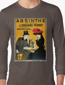 Vintage poster - Absinthe Long Sleeve T-Shirt