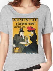 Vintage poster - Absinthe Women's Relaxed Fit T-Shirt
