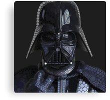 Darth Vader In Circles Canvas Print