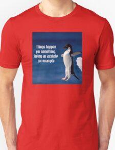 Wise penguin Unisex T-Shirt