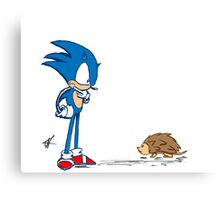 Hedgehogs Canvas Print