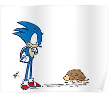 Hedgehogs Poster