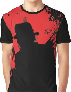 Icons of Horror - Freddy Graphic T-Shirt