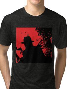 Icons of Horror - Freddy Tri-blend T-Shirt